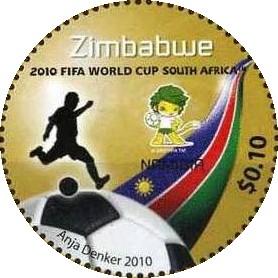 نتیجه تصویری برای stamp fifa 2010 world cup sapoa